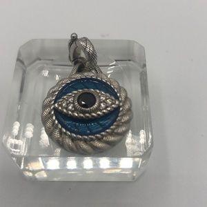 Judith ripka evil eye charm pendant